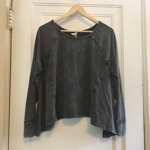 Free People Acid Wash swing top
